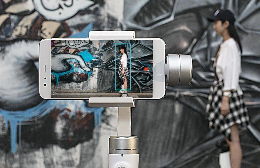 xiaomi levny stabilizator videa telefon gimbal