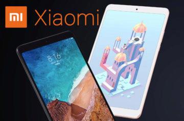 Xiaomi Mi Pad 4 představení: Kompaktní tablet s LTE za nízkou cenu