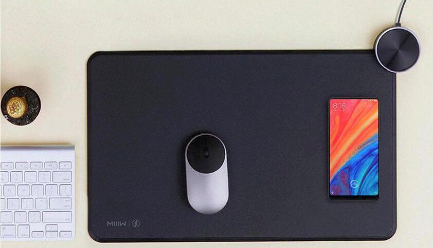 xiaomi mi smart mouse pad podlozka pod mys bezdratove nabijeni