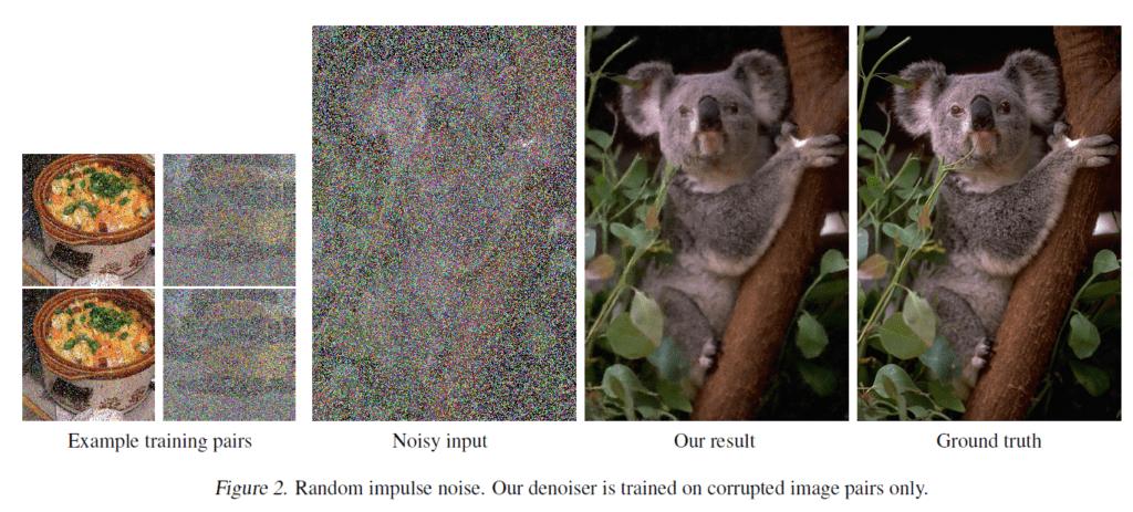 šum oprava fotografie nvidia umela inteligence