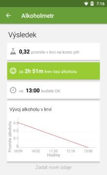 Alkoholmetr aplikace