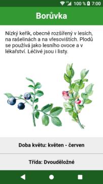Atlas rostlin aplikace