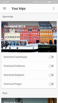 5 povedených aplikací Google Trips