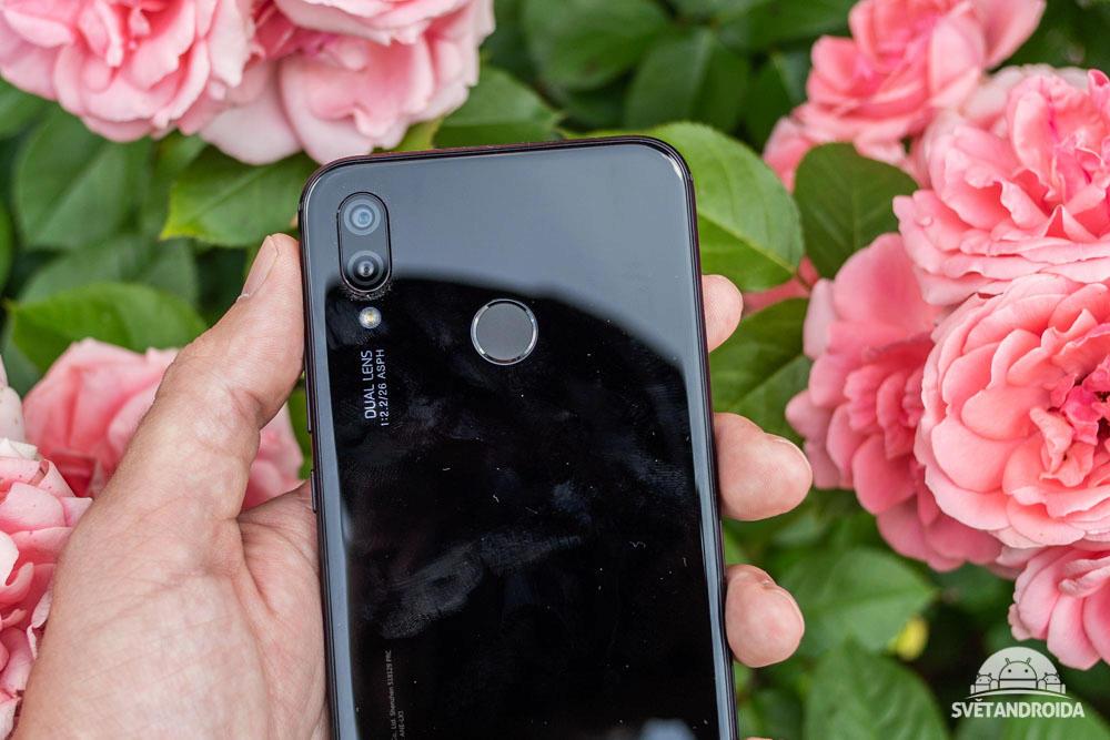 Huawei P20 lite čtečka otisků