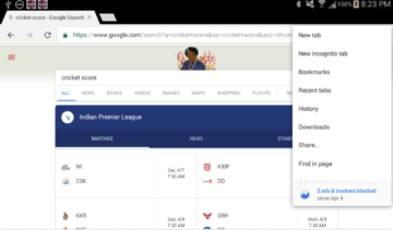 Kiwi Browser android aplikace
