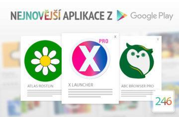 Nejnovější aplikace z Google Play #246: launcher ve stylu iPhonu X