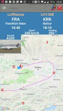 Podrobnosti o letadle Air Traffic