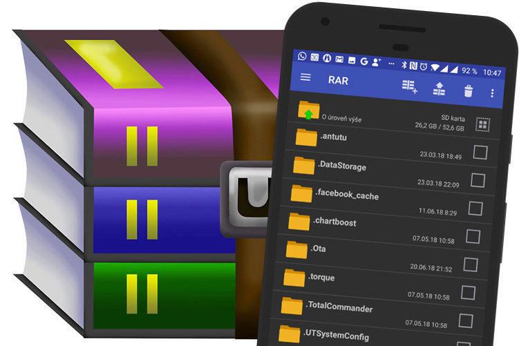 RAR-pro-Android-zkomprimuje