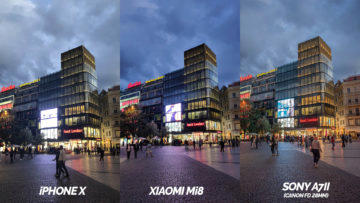 apple iphone x vs xiaomi mi 8 foto test zhorsene podminky