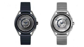 chytre hodinky wear os emporio armani