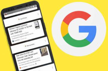 Otřesné rozhraní Google Feed nezmizelo. Naopak se rozšiřuje mezi více lidí