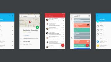 designove zmeny android p google aplikace
