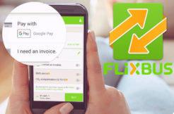 flixbus aplikace android google pay platba