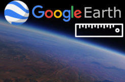 google earth measure vzdalenost plocha mereni