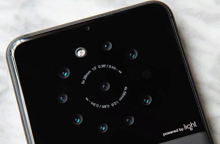 light telefon 9 objektivu