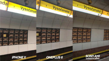 metro fotografie vysočanská - oneplus 6 vs apple iphone X