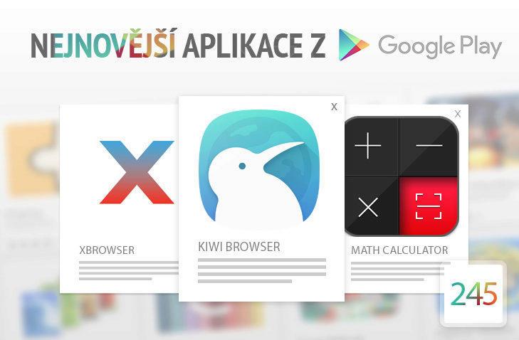 nejnovější aplikace webové prohlížeče android