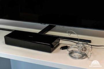 neviditelny kabel, krabicka, televize samsung