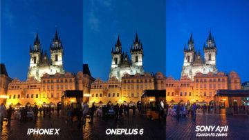 nocni praha fototest oneplus 6 vs iphone X