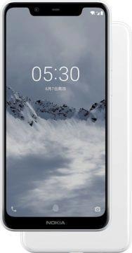 nokia 5.1 plus telefon