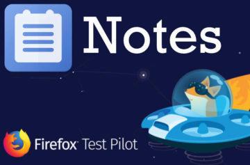 Mozilla má novou aplikaci a není to prohlížeč: Notes by Firefox můžete už stahovat
