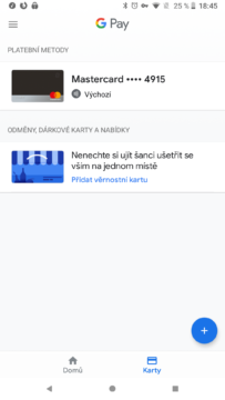 revolut karta v google pay