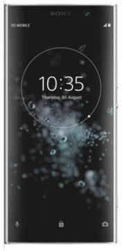 sony xperia xa2 plus displej