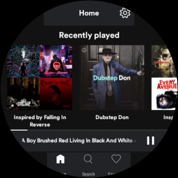 spotify lite wear os