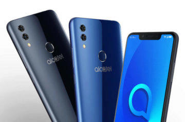 Telefon Alcatel 5V představen: Velká baterie, výřez v displeji a nízká cena