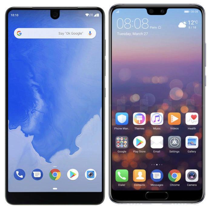 telefony vyrez android p podpora