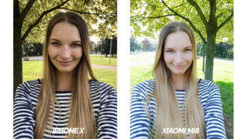 test selfie kamery apple iphone x vs xiaomi mi 8