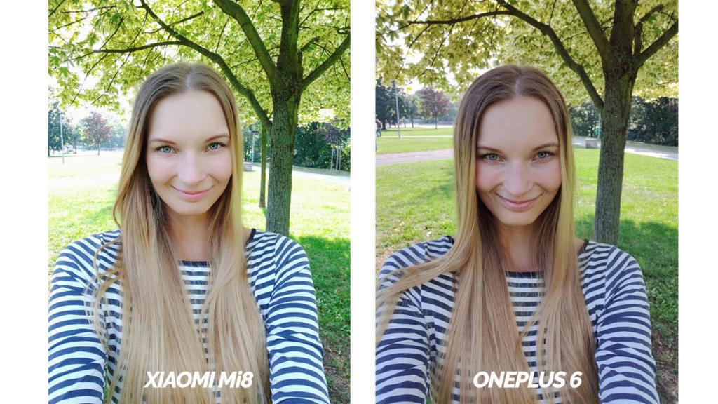 test selfie kamery xiaomi mi 8 vs oneplus 6 vs zrcadlovka sony