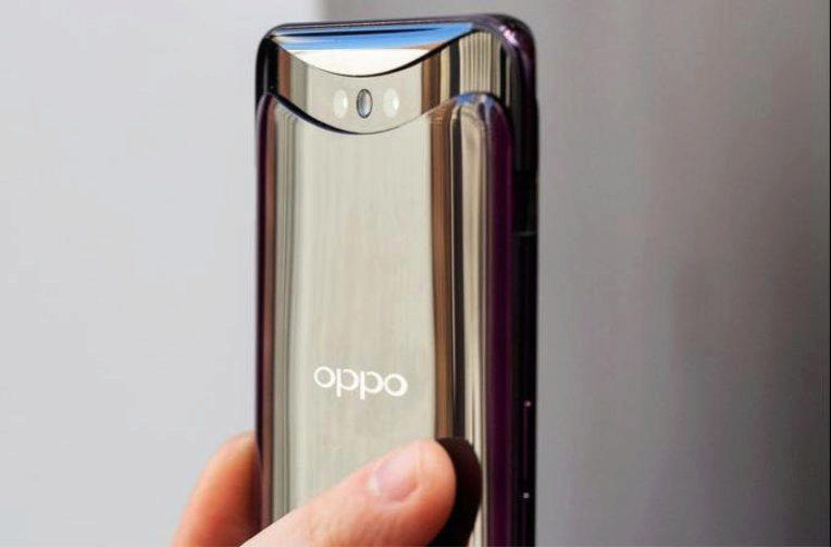 vysunovaci mechanismus oppo find x