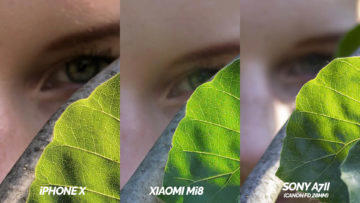 xiaomi mi 8 vs iphone x fototest oko detail