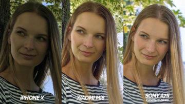 xiaomi mi 8 vs iphone x fototestovani detail oblicej