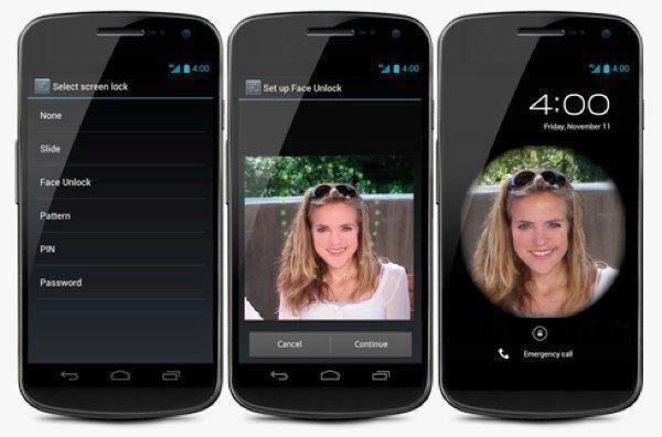 Již Android 4.0 přinesl odemykání obličejem