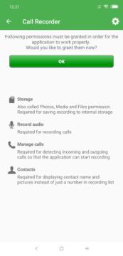 záloha SMS Aplikace vyžaduje řadu oprávnění