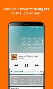 Aplikace Ava Lockscreen