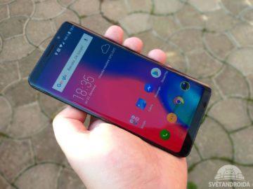 Elephone U Pro displej