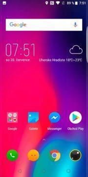 Elephone U Pro launcher