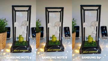 Fototest - Note 9 vs Note 8 vs S9