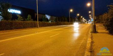 HTC U12 Plus fotoaparát nocni ulice