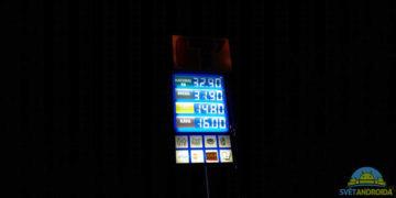 HTC U12 Plus fotoaparát nocni fotografie
