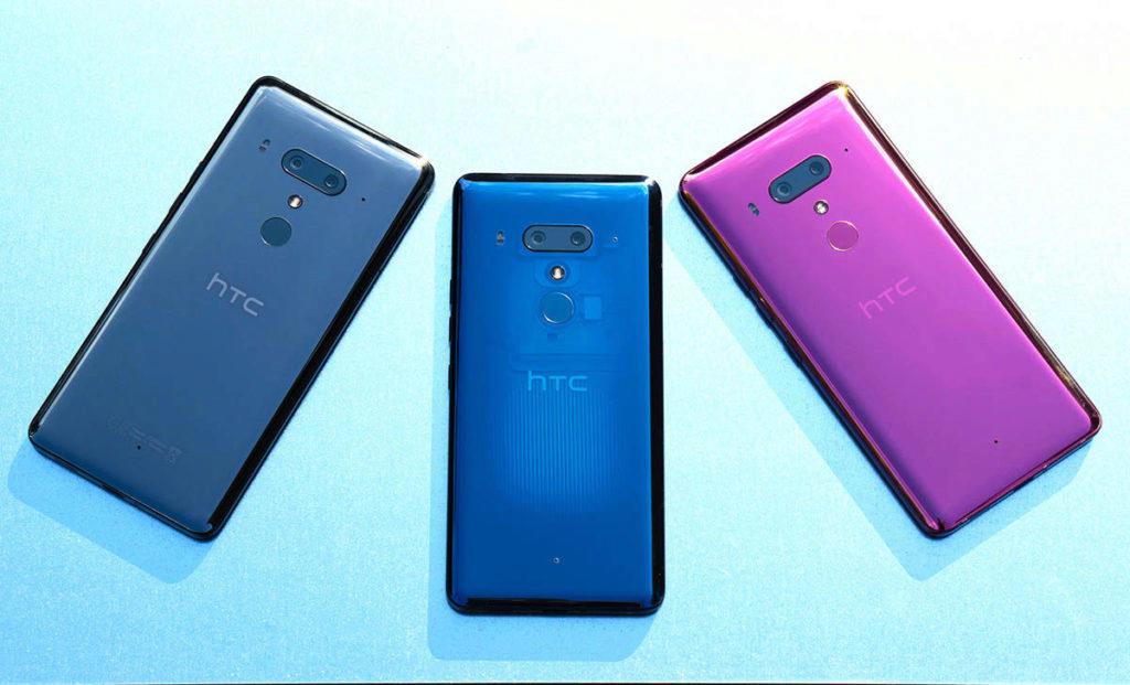 HTC U12+ barevne varianty