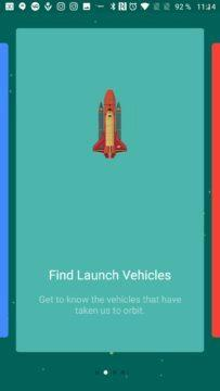 Informace o raketách i družicích Space Launch Now
