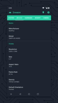 Inware aplikace