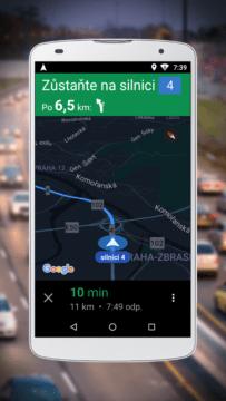 Navigace pro Google Maps Go