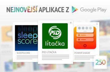 Nejnovější aplikace z Google Play #250: jízdní řády a jízdenky