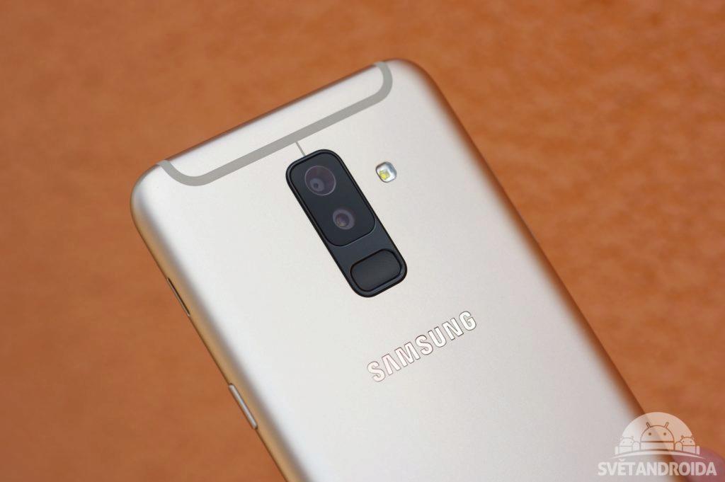 Samsung Galaxy A6+ čtečka otisků