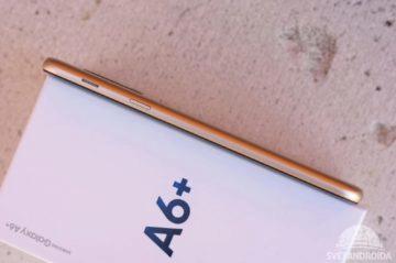 Samsung Galaxy A6+ reproduktor